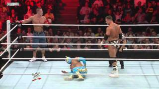 Video Raw: John Cena & Sin Cara vs. The Miz & Alex Riley MP3, 3GP, MP4, WEBM, AVI, FLV Juni 2019