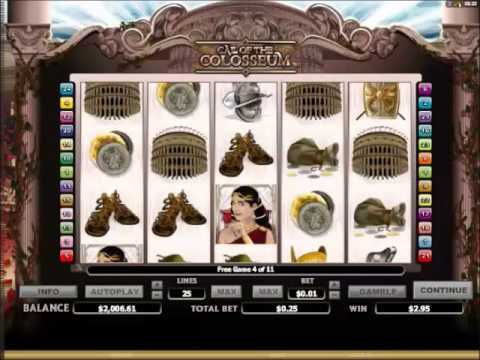 Call of the Colosseum Slots 10 Free Spins and Extra Free Spins