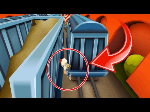 Subway Surfers Funniest Glitch Full Gameplay For Children HD! (видео)