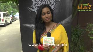 Swathi Shanmugam at Savarikkadu Movie Audio Launch