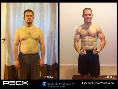 P90X Results – Matt's Transformation – 85 pounds lost
