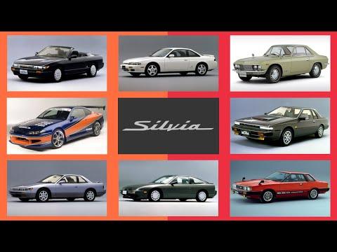 The History of Nissan Silvia   seluruh generasi Nissan Silvia