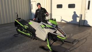 10. Country Cat - 2018 Arctic Cat M 8000 Sno Pro 153