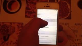 Анлок (разлочка) iphone 5 EE T-mobile Orange UK с последней  прошивкой  на сегодняшний день 8.0  с помощью обновляемой Gevey AIO