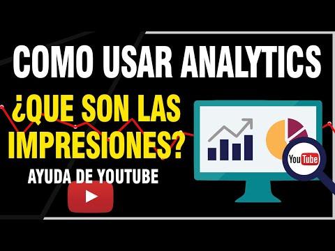Que Son Las Impresiones en Youtube? - Youtube Analytics | JOEStream
