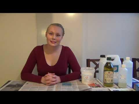 Ellen kan själv: Tillverkning av flytande tvål med kaliumhydroxid