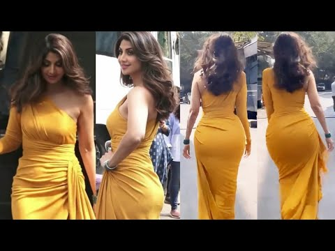 Shilpa Shetty dilkash look in yellow dress as starts to super dancer chapter 4, what a beauty at 40