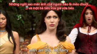 Trận chiến rap giữa Cinderella và Belle