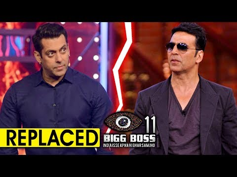 Salman Khan REPLACED By Akshay Kumar In Bigg Boss