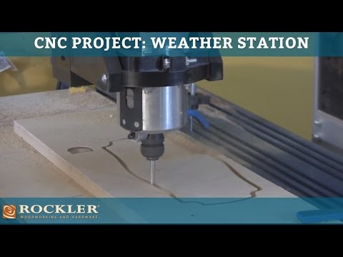 CNC Shark Project: Weather Station