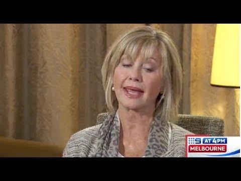 Olivia Newton-John: 9News Melbourne 4pm Interview (September 11, 2017)