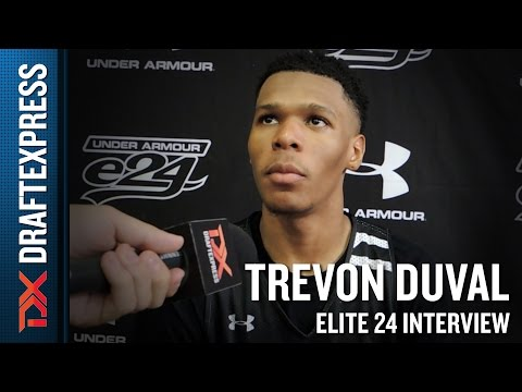 Trevon Duval Elite 24 Interview