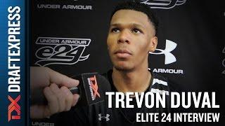 Trevon Duval Elite 24 Interview