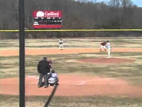 Guilford Baseball vs. Averett 2/13/11 Highlights