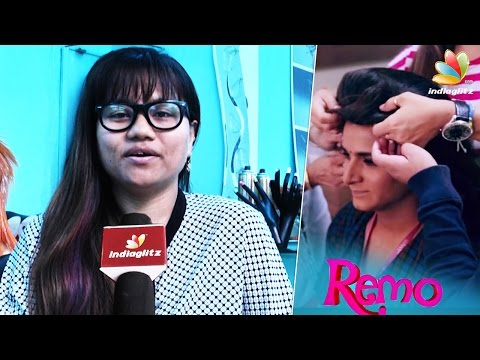 Kashmora-Nayanthara-and-Sivakarthikeyans-Hair-Stylist-Interview-Rachel-on-Remo-Teaser-Making