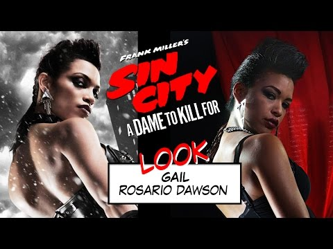 0 Ce quil ne fallait pas louper sur F2F Remember! Sin City 2 Rosario Dawson Maquillage Sin City look sin city Gail Eva green coiffure Sin City ava lord sin city 2 ava lord