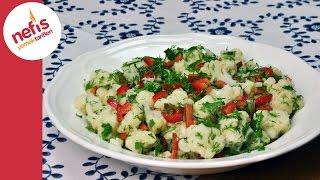 Karnabahar Salatası Tarifi | Sebze Salatası Tarifi