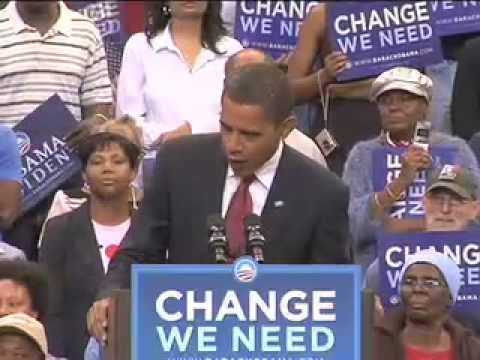 Barack Obama in Jacksonville, Florida