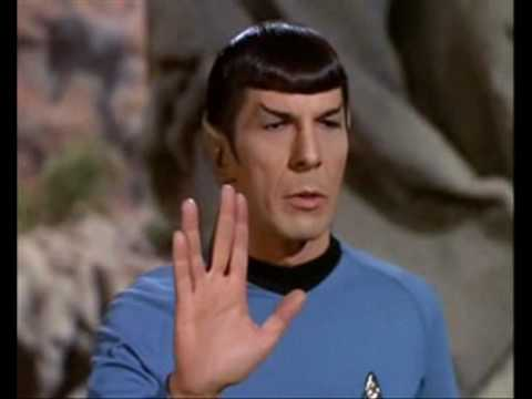 &quot;Live long and prosper&quot;