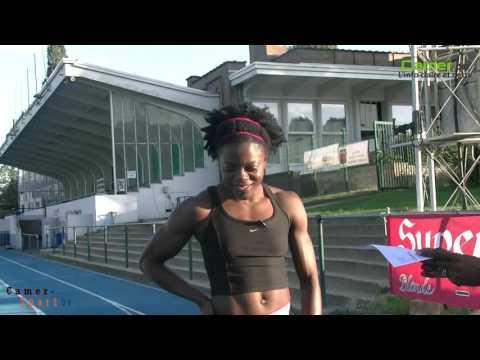 Fanny Laure APPES EKANGA, Sprinteuse camerounaise du 100 et 200m