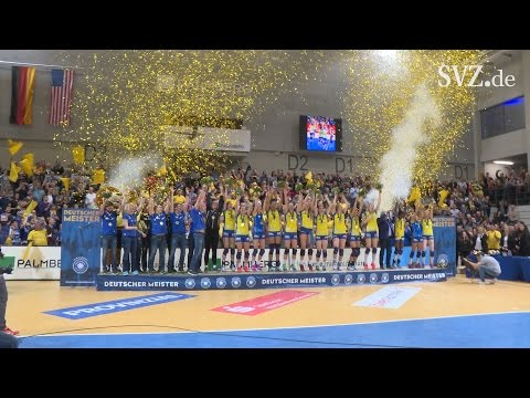 Volleyball: SSC Palmberg Schwerin gewinnt die Deutsche  ...