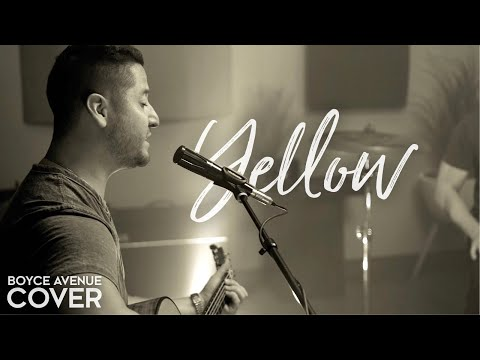 "Coldplay  ""Yellow"" Cover by Boyce Avenue"