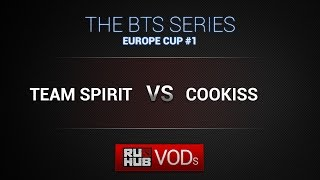 COOKISS vs Spirit, game 1