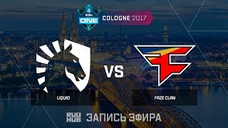 Liquid vs FaZe Clan - ESL One Cologne 2017 - map2 - de_train [yXo, Enkanis]