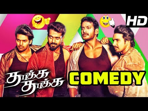 Thakka Thakka Tamil Movie Comedy Scenes | Vikranth | Abhinaya | Aravinnd Singh | Charle | Aruldoss