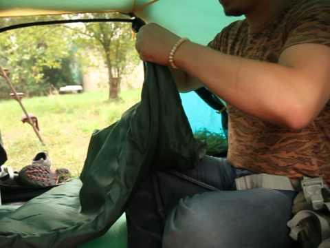 Спальный мешок Alaska «Одеяло +20 С». Видеообзор.