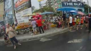 Thai New Year - Water Festival In Chiang Mai - North Thailand - 2013