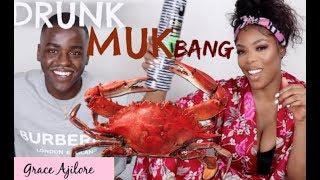DRUNK MUKBANG WITH NCUTI!!!!!