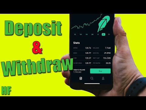 How to Deposit and Withdraw Money with the Robinhood App