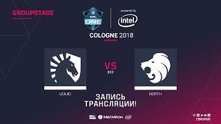 Liquid vs North - ESL One Cologne 2018 - map2 - de_inferno [ceh9, SSW]