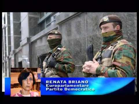 BRUXELLES CITTA' BLINDATA : LA TESTIMONIANZA DI RENATA BRIANO