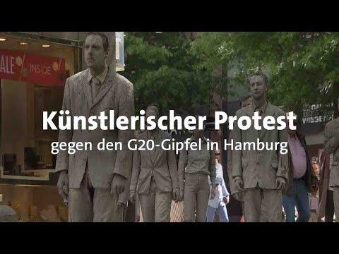 G20 in Hamburg: Künstlerischer Protest