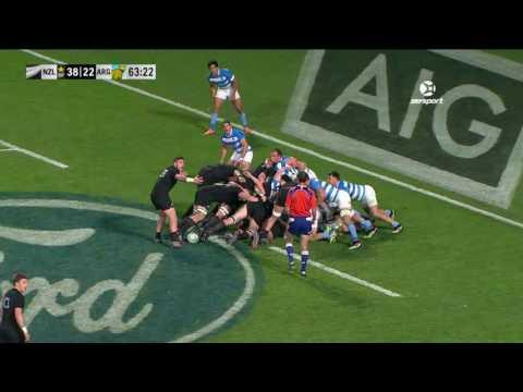 New Zealand 57 v 22 Argentina