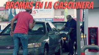 Bromas en la Gasolinera