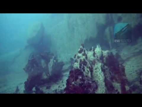 "Underwater video of the dive site ""Coral Garden"" in Pandan Island"