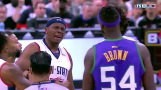 Kwame Brown Finally Played and Almost Fights!! BIG 3: S2G4