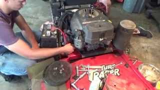 4. Kawasaki 4 Stroke Engine Rebuild. Piston Ring Repair , Head Gasket Replace
