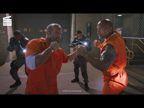 The Fate of the Furious: Jail fight
