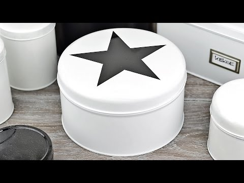 DIY - Keksdose aus Metall umgestalten/lackieren #1 I aus Alt mach Neu I Upcycling I How to