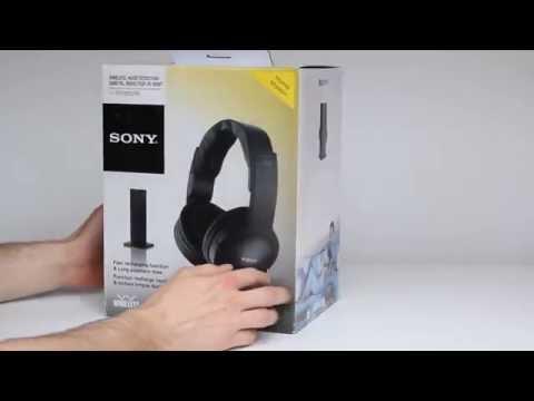 Funkkopfhörer Test: Sony MDR-RF865RK - Unboxing