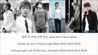 Download Lagu B.A.P - Excuse Me [Hangul/Romanization/English] Color & Picture Coded HD Mp3