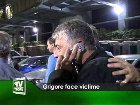 Grigore face victime.
