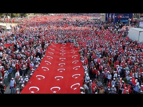 Τουρκία: Διαδήλωση «κατά της τρομοκρατίας»