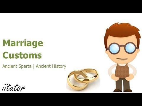 √√ Marriage Customs in Ancient Sparta | iitutor