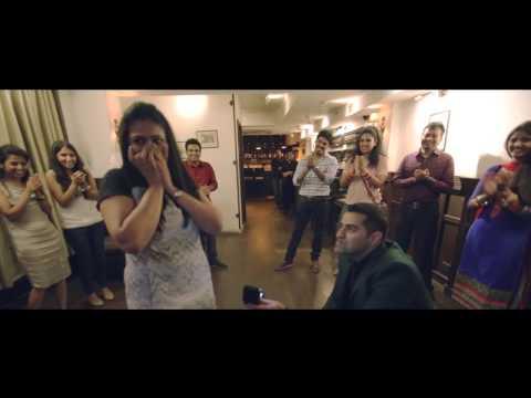 Video Sameer & Vidhi - Best Surprise Wedding Proposal download in MP3, 3GP, MP4, WEBM, AVI, FLV January 2017