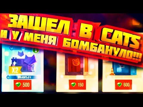 У ТЕБЯ БОМБАНЕТ ОТ ТАКОЙ НОВОСТИ CATS: Crash Arena Turbo Stars